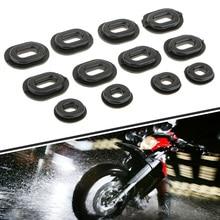 12 шт. мотоциклетные резиновые люверсы болт сброса давления подушки комплект для Yamaha Honda CB CL XL Suzuki Обтекатели Мото Аксессуары