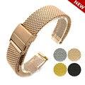 Top Qualität 18mm 20mm 22mm Uhr Strap Quick Release Bar Edelstahl Uhrenarmbänder Ersatz-Armband Männer Frauen armband