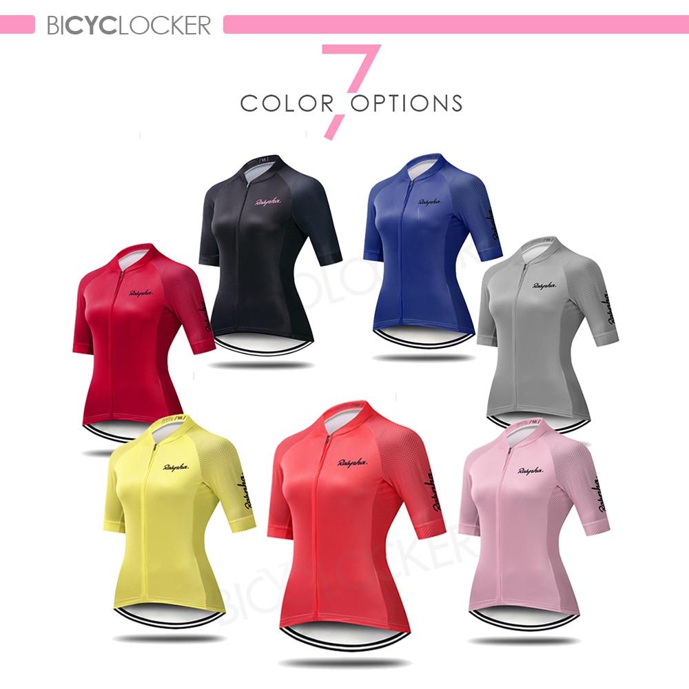 Купить с кэшбэком Cycling Clothing Women Jersey Sets Road Bike Uniform Suits Short Sleeve Summer Female  Breathable Quick Dry 19d Gel Pad