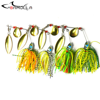 Spinner Bait Fishing Lures Weights 17g Spinnerbait Metal Isca Artificial Articulos De Pesca Fishing Bait Fishing Spinner 10pcs lot fishing lure spinner bait metal lures pesca tackle jerk bait artificial spoon lures spinnerbait 6 3cm 5 1g