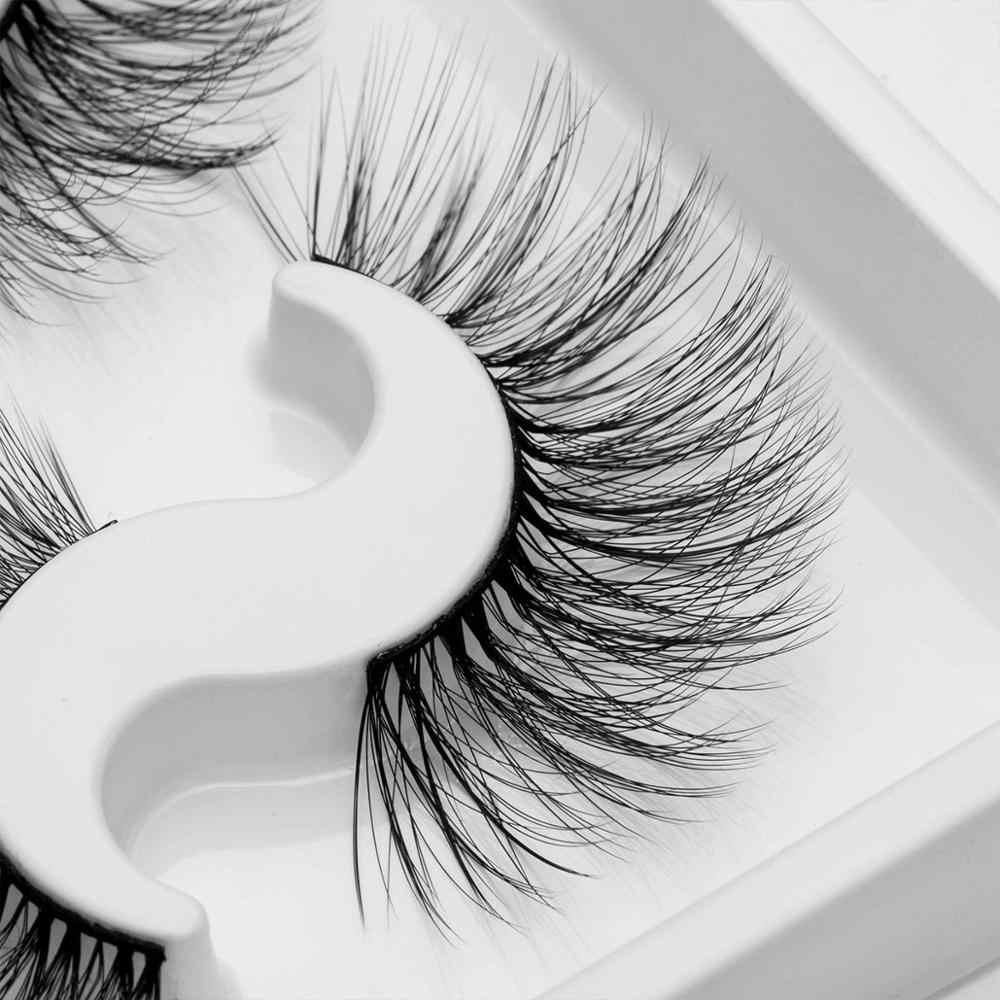 9 أزواج الطبيعية الرموش الصناعية ثلاثية الأبعاد اليدوية رموش اصطناعية ماكياج العين Wispy رموش منك صناعي تمديد حجم لينة المنك جلدة