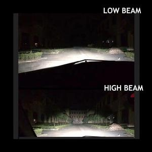 Image 5 - Yaxial Light Mini H4 Led Hi/Lo H7 Led faro H11 H1 lampadina auto 9005 hb3 9006 hb4 H8 H9 aggiornamento lampada 55w 12000lm fendinebbia 6500K