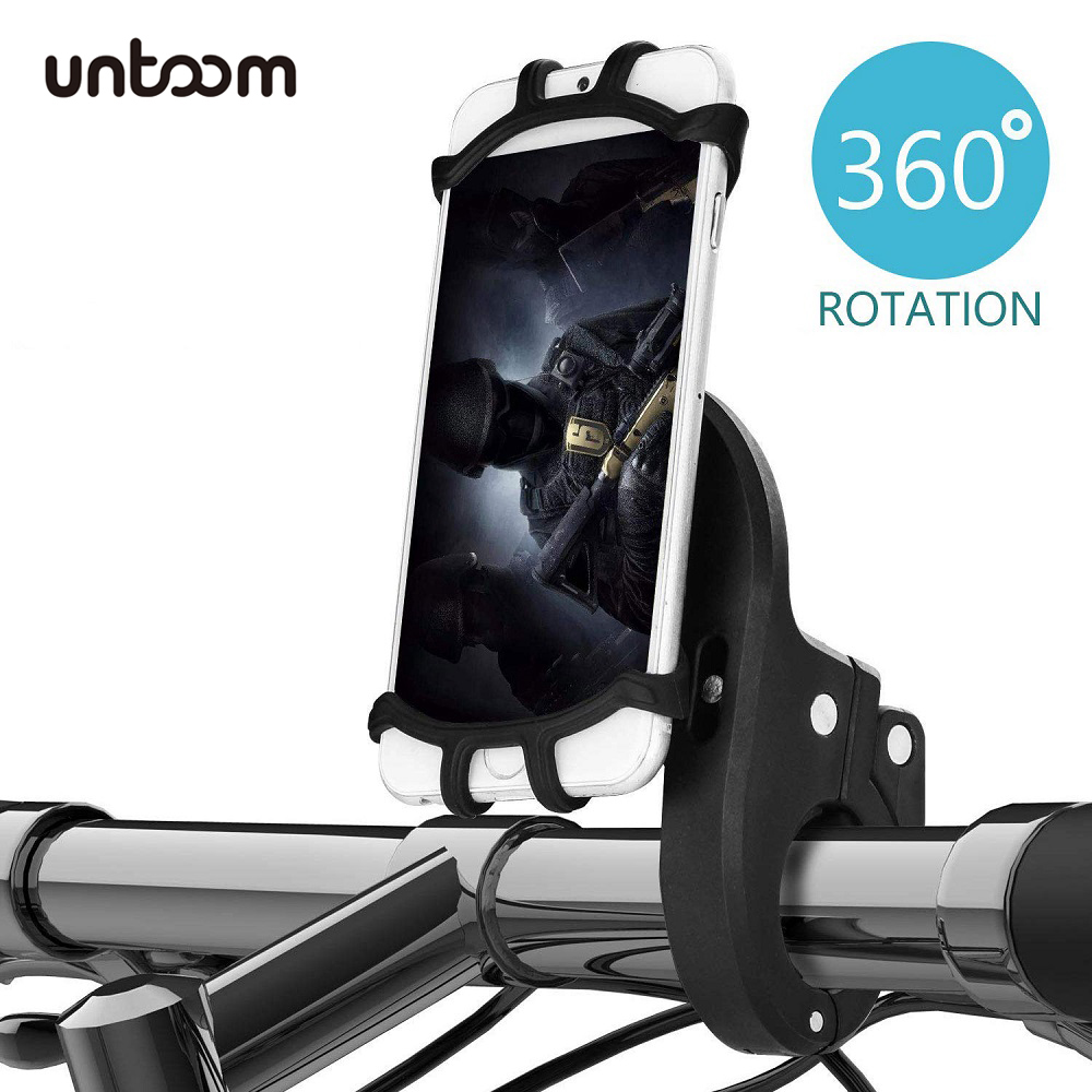 Bike Phone Mount Stand Universal Scooter Bicycle Motorcycle Phone Holder Cradle Clamp For IPhone Xs Xr X 8 7 Samsung S10 9 8Plus