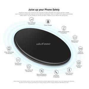 Image 1 - Ulefone UF002 Draadloze Oplader 10W Snel Opladen Qi Draadloze Oplader Pad Voor Huawei P30 Pro/Ulefone Armor 6 s/Andere Smartphones