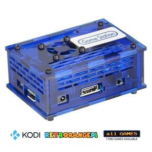 Image 2 - 128GB RETRORANGEPI 게임 스테이션 아케이드 코디 데스크탑 미니 PC HDMI w/ 17000 + 게임 레트로 파이 시스템 코디 아케이드 풀 키트