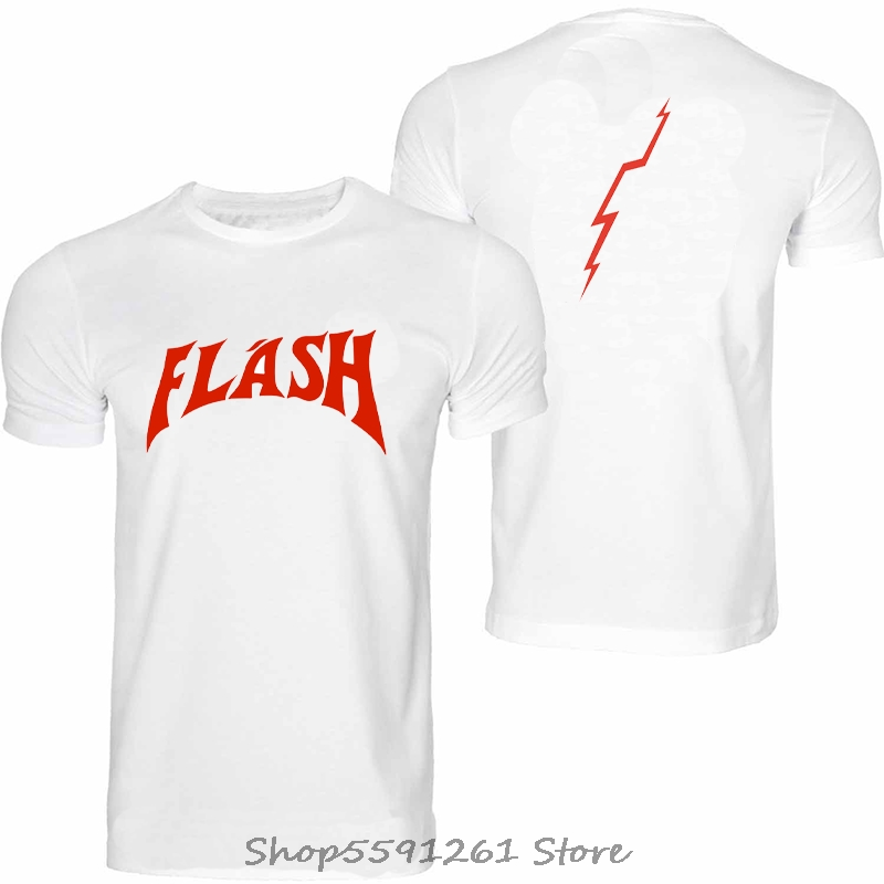 FREDDIE MERCURY FLASH GORDON QUEEN ROCK BAND TSHIRT RETRO HIP HOP Top Tee Front&Back Printing Streetwear Men's T-shirt(China)