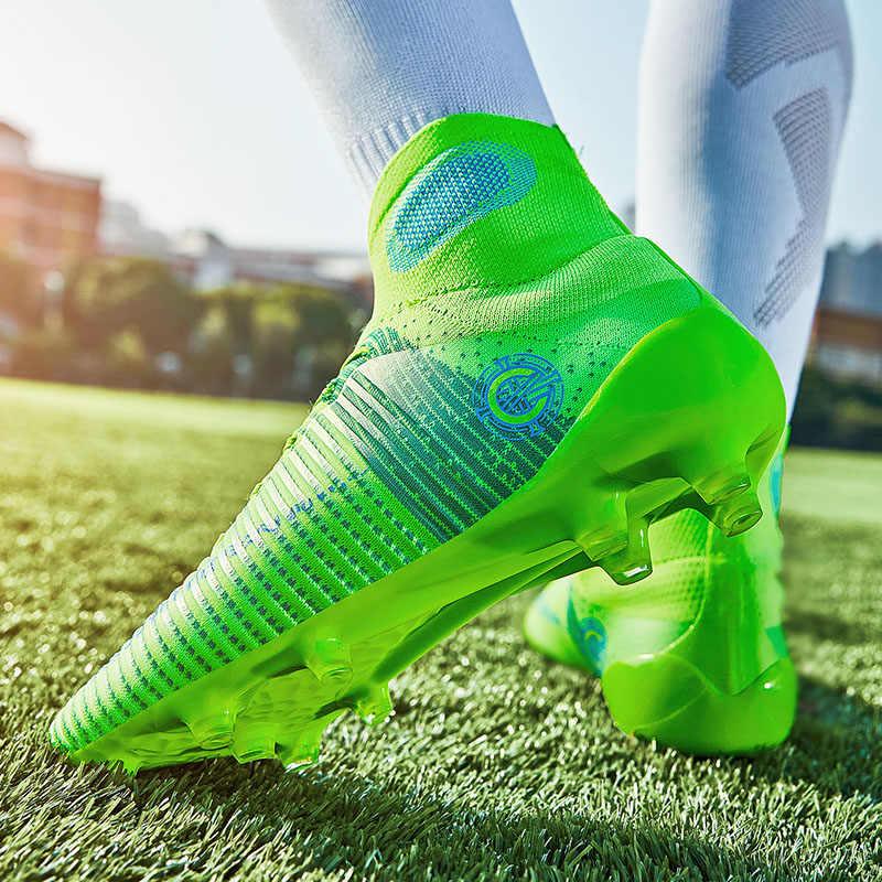 גברים של נעלי כדורגל גרבי כדורגל נעלי אור גברים של כדורגל נעלי מסמר ארוך כדורגל ציפורניים שבורות נעלי כדורגל