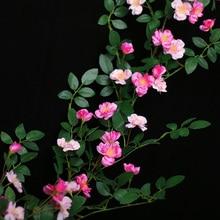 Искусственный цветок из ротанга с имитацией цветка розы для свадебной вечеринки, украшения для дома