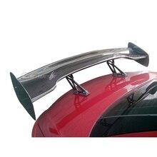 Alerón trasero universal de fibra de carbono para Toyota GT86 Subaru BRZ Scion FR S GT