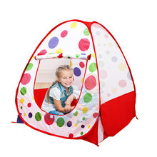 Kakuniao bi KID'S Tent Fun Dotted Game Tent Indoor Outdoor Foldable Baby Oceans Ball Pool Game(China)