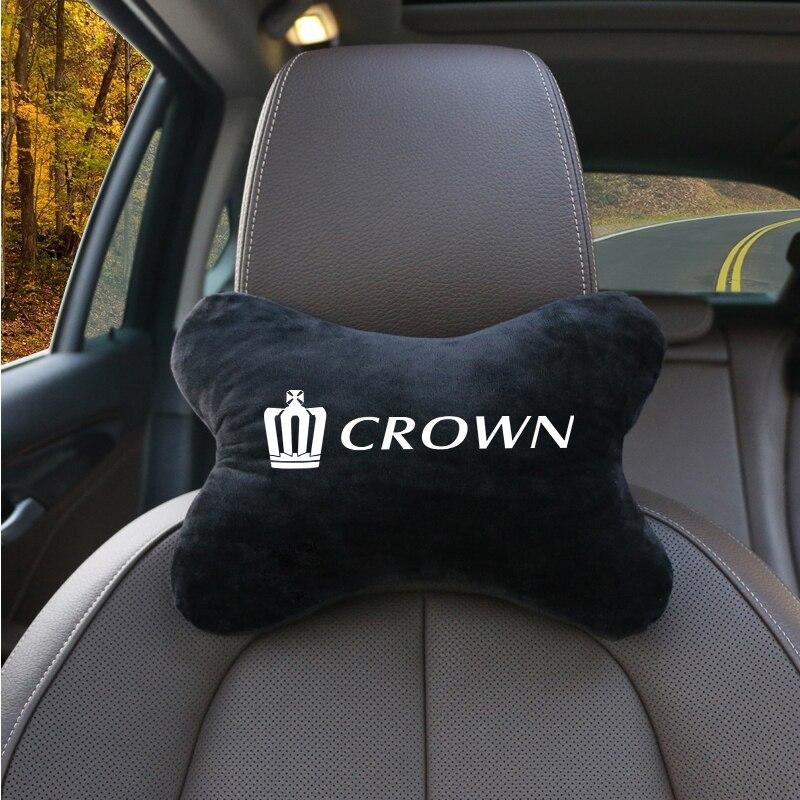 1 шт., автомобильные аксессуары подушка для шеи комфорт соединение из дышащего хлопка, авто подушка для шеи подголовник для отдыха подходит ...