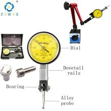 Test-Indicator Rails-Mount Measuring-Instrument Dovetail Magnetic-Base-Holder Dial-Gauge