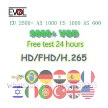 French Belgian Arabic Dutch IPTV European German Spanish 5000 Live Broadcast 9000VOD Sports Adult XXX Android m3u(China)