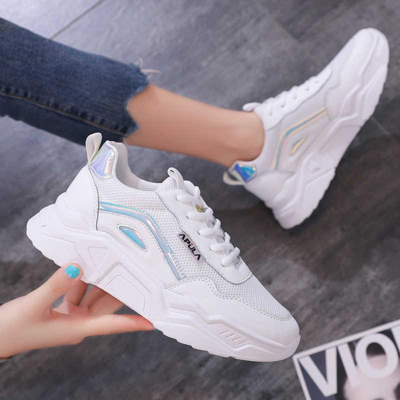 Женские модные детские кроссовки, удобные сетчатые дышащие Нескользящие кроссовки, светильник, спортивная обувь для путешествий и прогулок