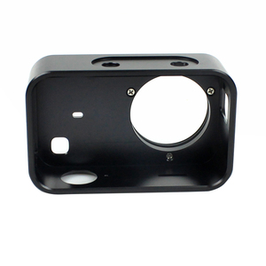 Image 5 - Aluminum Protective Frame Mount for Xiaomi Mijia Mini 4K Action Camera Housing Case Protector with UV Lens Cover Camera Border