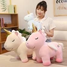 Stuffed Dolls Unicorn Plush Plush-Toys Sleep-Pillow Gift Baby Kawaii Animal Child Lovely