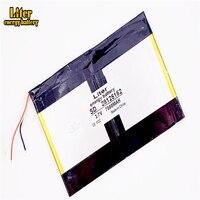 3 линии полимерные перезаряжаемые батареи 28125152 3 7 В 7000 мАч планшетный ПК  общий аккумулятор  X98 отличное качество