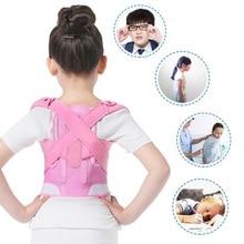Children Posture Corrector Back Support Belt Kids Corset Spine Back Support Lumbar Shoulder Braces Back Posture Correction Brace все цены