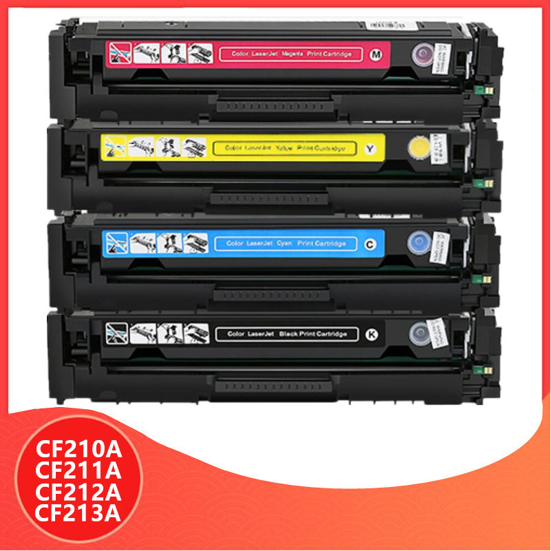210A CF210A CF211A CF212A CF213A 131A Compatible Toner Cartridge For HP LaserJet Pro 200 COLOR M251n M251nw M276n M276nw Printer