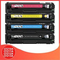 210A CF210A CF211A CF212A CF213A 131A Kompatibel Toner Patrone Für HP LaserJet Pro 200 FARBE M251n M251nw M276n M276nw drucker