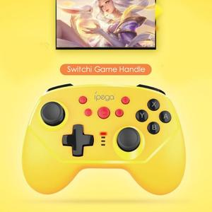 Image 4 - Ipega PG 9162 Gamepad Mini BT Wireless/Wired 6 axis Turbo Controller for Switch Support Dropshipping