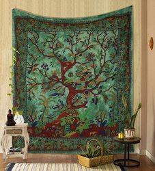 2021 новейший Настенный декор с изображением дерева жизни, коврик для пикника, покрывало, простыня, украшение для стен, комнатный декор, гобел...