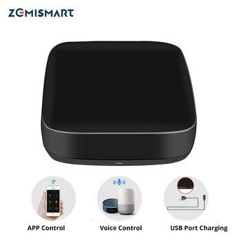 Zemimart Tuya IR pont contrôle climatisation ventilateur TV Google Home Alexa Echo universel télécommande ca