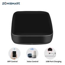 Zemismart Tuya IR 브리지 제어 에어컨 팬 TV Google 홈 Alexa Echo 범용 원격 AC 제어