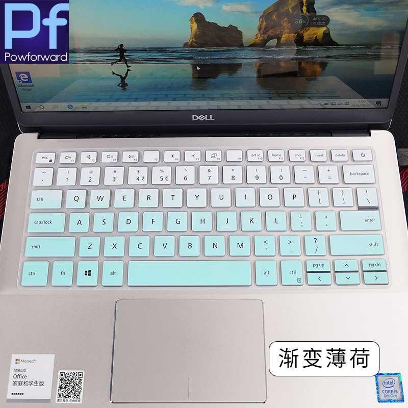 الكمبيوتر المحمول لوحة المفاتيح غطاء حامي لديل انسبايرون 14 انسبايرون 5490 7490 7391 5498 5493 7490 5493 5498 خط العرض 3300 3301 5391