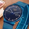 2020 новые синие кварцевые часы LIGE мужские часы Топ Бренд роскошные часы для мужчин простые стальные водонепроницаемые наручные часы Reloj Hombre