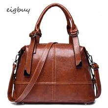 Ladies Women Shoulder Bag Famous Brand Big  Leather Hand Bags Handbags Shopper Black Casual Bolsos Mujer
