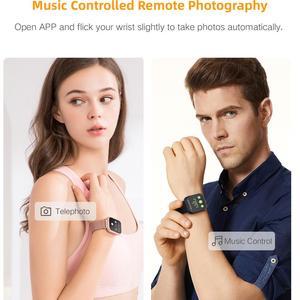Image 4 - Greentiger P80 Astuto Della Vigilanza Donne IP68 Impermeabile Monitor di Frequenza Cardiaca Fitness Tracker di Pressione Sanguigna Smartwatch VS B57 P68 S226