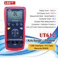 وحدة UT611/UT612 الرقمية مقياس قدرة دائرة التوالي السعة الرقمية الحث تيار مستمر جهاز اختبار المقاومة 100Hz 120Hz 1KHz 10KHz 100KHz التردد