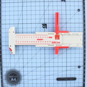 Przenośny gilotyna do papieru biurowe artykuły gospodarstwa domowego nóż kompas nóż cięcie okrężne ostrze termokurczliwe scyzoryk tanie i dobre opinie plastic g96514