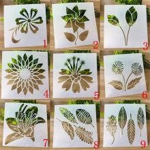 Stencil For Walls Craft Variety flowers Painting Scrapbooking Stamping Stencil Bullet Journ Embossing Paper Card Flower Template|  - AliExpress