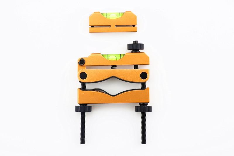 Sistema de nivelamento retículo do riflescope da