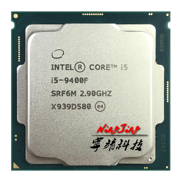 Intel Core i5 9400F i5 9400F 2.9 GHz שש ליבות שש חוט מעבד 65W 9M מעבד LGA 1151