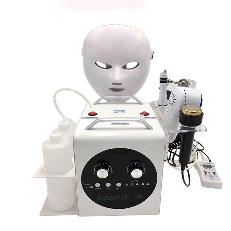 5-in-1 Ultra-fine Small Bubble High-frequency Facial Beauty Equipment To Blackhead Absorbent Cleaning Oxygen Injection Machine