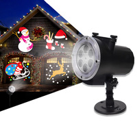 2019 LED Window Wonderland Projector Lights Outdoor Christmas New Year diwali Decorations for Holiday Home