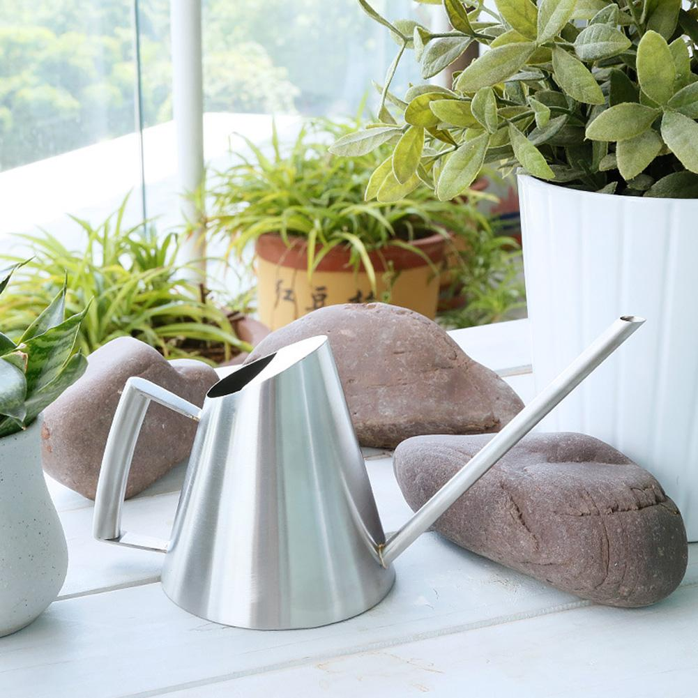 400ML Stainless Steel Long Spout Indoor Garden Bonsai Plant Flower Watering Can|Water Cans| |  - title=