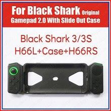 H88l h66rs original preto tubarão 3s gamepad com slide para fora caso lado direito joystick global acessórios