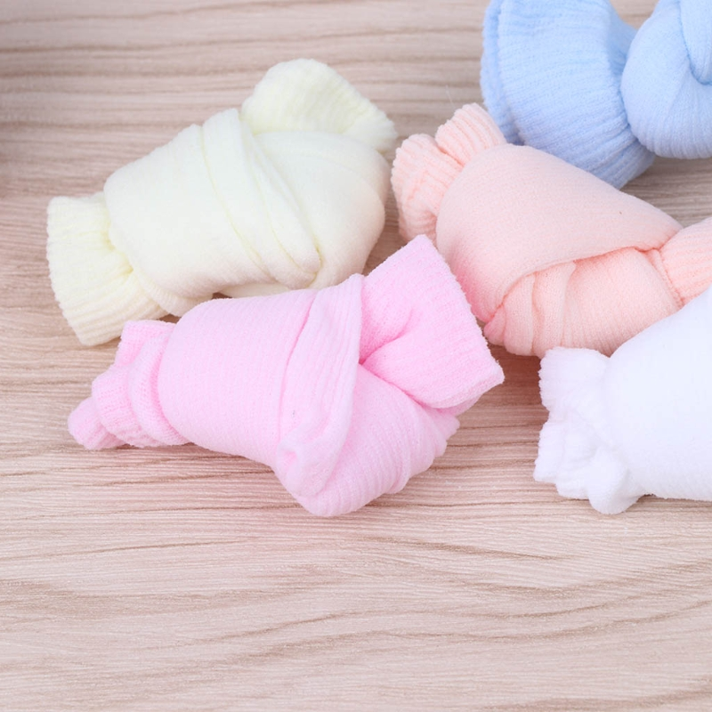 5 Pairs Baby Candy Colors Socks For Newborn Infant Toddler Summer Acrylic Kids GXMB