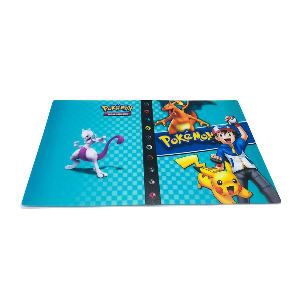 240 шт. держатель Альбом игрушки коллекции Pokemones карты Альбом Книга Топ загруженный список игрушки подарок для детей - Цвет: Album10 240 holder