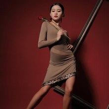 Dance-Dress Cloth Chacha Latin Samba Dancing Tango Practise Performamnce Women L9673