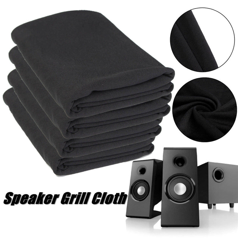 Speaker Dust Covers Cloth Grill Filter Fabric Mesh Black/Silver/Beige/Brown/Blue/White