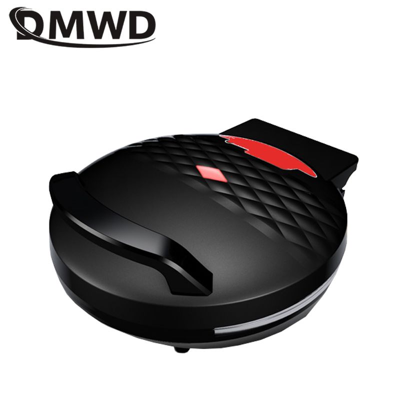DMWD Multifunctional Electric Skillet Frying Pan 220V Pizza Crepe Pancake Maker Machine Double-sides Heating BBQ Tool 1300W