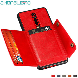 Redmi K20 Wallet Case for Xiaomi K30 Mi 9t Pro Xiomi Redmi Note 9 8 7 Pro 8T 8A 7a Leather Card Holder Car Magnetic Stand Cover(China)