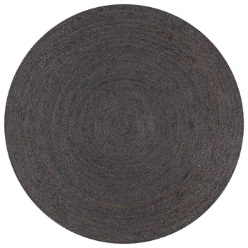 120 cm Handmade round dark gray Carpet For Living Room Bedroom Area Rugs Solid Nordic Home Decorative