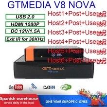 Gtmedia V8 Nova Europe Cline for 2 Years Satellite TV Receiver DVB-S2 1080P HD H.265 WIFI GTmedia V8 NOVA Satellite tv receiver