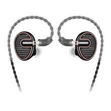 SIMGOT EN700 PRO dynamiczny sterownik wysokiej wierności w słuchawkach dousznych z odłączany kabel hi-res Audio słuchawki douszne